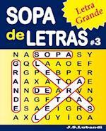 Sopa de Letras #3 (Letra Grande)