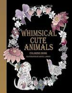 Whimsical Cute Animals Coloring Book