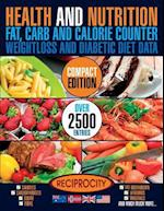 Health & Nutrition, Compact Edition, Fat, Carb & Calorie Counter