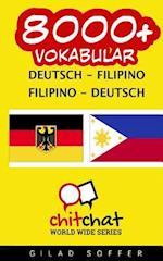 8000+ Deutsch - Filipino Filipino - Deutsch Vokabular