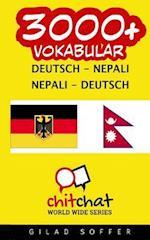 3000+ Deutsch - Nepali Nepali - Deutsch Vokabular