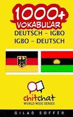 1000+ Deutsch - Igbo Igbo - Deutsch Vokabular