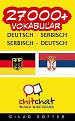 27000+ Deutsch - Serbisch Serbisch - Deutsch Vokabular