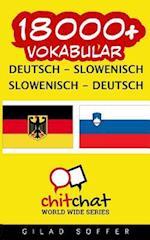 18000+ Deutsch - Slowenisch Slowenisch - Deutsch Vokabular