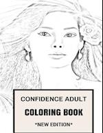 Confidence Adult Coloring Book