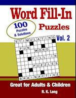 Word Fill-In Puzzles, Volume 2