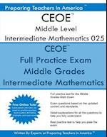 Ceoe Middle Level Intermediate Mathematics 025
