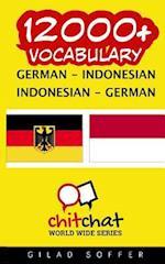 12000+ German - Indonesian Indonesian - German Vocabulary