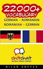 22000+ German - Romanian Romanian - German Vocabulary