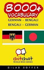 8000+ German - Bengali Bengali - German Vocabulary