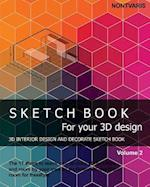 Sketch Book for Your 3D Design