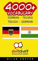 4000+ German - Telugu Telugu - German Vocabulary