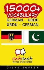 15000+ German - Urdu Urdu - German Vocabulary