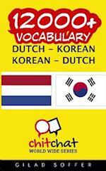 12000+ Dutch - Korean Korean - Dutch Vocabulary