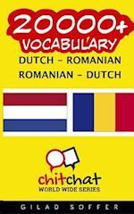 20000+ Dutch - Romanian Romanian - Dutch Vocabulary