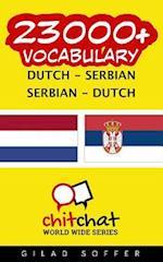 23000+ Dutch - Serbian Serbian - Dutch Vocabulary