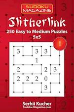Slitherlink - 250 Easy to Medium Puzzles 5x5