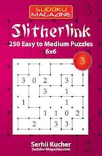 Slitherlink - 250 Easy to Medium Puzzles 6x6