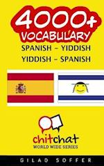 4000+ Spanish - Yiddish Yiddish - Spanish Vocabulary
