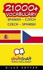21000+ Spanish - Czech Czech - Spanish Vocabulary