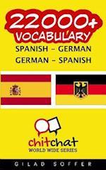 22000+ Spanish - German German - Spanish Vocabulary