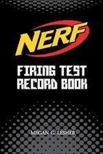 Nerf Firing Test Record Book (Black) Version 1