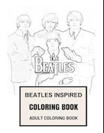 Beatles Inspired Coloring Book