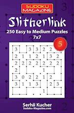 Slitherlink - 250 Easy to Medium Puzzles 7x7
