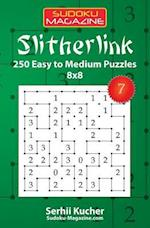 Slitherlink - 250 Easy to Medium Puzzles 8x8