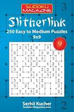 Slitherlink - 250 Easy to Medium Puzzles 9x9