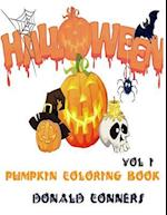 Pumpkin Coloring Book - Halloween Vol 1