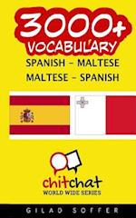 3000+ Spanish - Maltese Maltese - Spanish Vocabulary