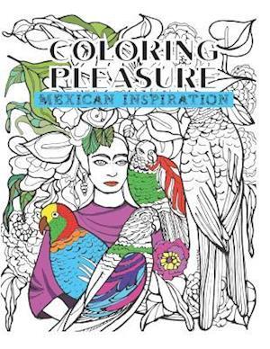 Bog, paperback Coloring Pleasure af Vivianne Koplewicx, Amy Rosemberg