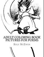 Adult Coloring Book Pictures for Poems