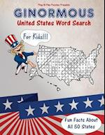 Ginormous United States Word Search