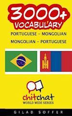 3000+ Portuguese - Mongolian Mongolian - Portuguese Vocabulary