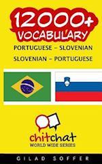 12000+ Portuguese - Slovenian Slovenian - Portuguese Vocabulary