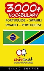 3000+ Portuguese - Swahili Swahili - Portuguese Vocabulary