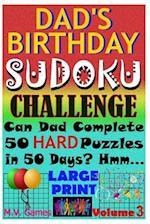 Dad's Birthday Sudoku Challenge