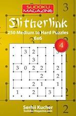 Slitherlink - 250 Medium to Hard Puzzles 6x6