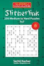 Slitherlink - 250 Medium to Hard Puzzles 7x7