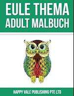 Eule Thema Adult Malbuch