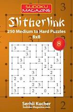 Slitherlink - 250 Medium to Hard Puzzles 8x8