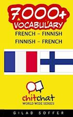 7000+ French - Finnish Finnish - French Vocabulary