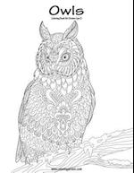 Owls Coloring Book for Grown-Ups 3