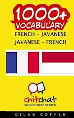 1000+ French - Javanese Javanese - French Vocabulary