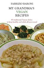 My Grandma's Vegan Recipes (Full Color Book)