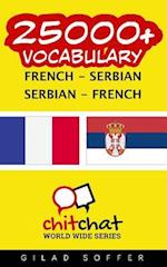25000+ French - Serbian Serbian - French Vocabulary