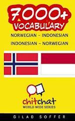 7000+ Norwegian - Indonesian Indonesian - Norwegian Vocabulary