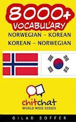 8000+ Norwegian - Korean Korean - Norwegian Vocabulary